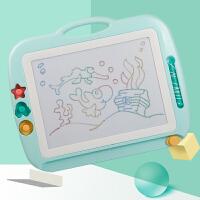 涂鸦板1-3岁2玩具 儿童画板磁性写字板笔彩色小孩幼儿磁力宝宝