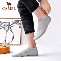 【3双装】骆驼运动袜子休闲舒适透气男袜吸汗防臭四季船袜棉袜潮