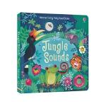 【中商原版】丛林的声音 英文原版 Jungle Sounds 发声纸板书 Usborne 认知识物有声绘本 3-6岁