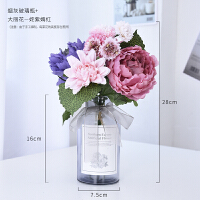 假花仿真花客厅装饰小摆件室内摆设塑料花ins北欧风绢花餐桌花艺