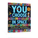 英文原版绘本 You Choose In Space 超凡想象益智大书系列 Nick Sharratt