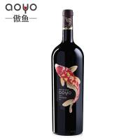傲鱼AOYO智利原瓶进口红酒 佳美娜干红葡萄酒2016年1500ml*1