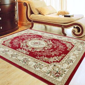享家欧式美誉地毯客厅茶几地毯卧室地毯床边毯 时尚古典 欧式地毯 沙发大地毯床边毯床边垫家居用品装饰品 地毯地垫
