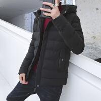 男士外套冬季棉衣韩版学生羽绒冬装短款棉袄冬天