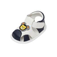 婴儿软底男女宝宝步前鞋夏季婴儿鞋皮凉鞋
