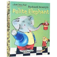 英文原版童书 Richard scarry Polite Elephant 有礼貌的大象 社交礼仪生活好习惯 理查德・