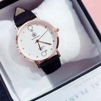 韩版简约潮流小清新百搭手表女士手表学生手表