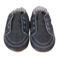 保税区发货/美国直邮 Robeez Stylish Steve 男童软底学步鞋牛仔蓝 海外购