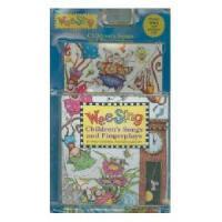 【现货】英文原版 Wee Sing Children's Songs and Fingerplays [With CD