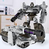 合金变形玩具金刚5威震L坦克机器人赛博坦G1模型男孩4