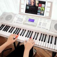 儿童初学者入门幼师连接APP电子琴61力度键智能电子琴成人儿童幼师专用初学者入门