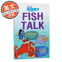 海底总动员 英文原版 Finding Dory: Fish Talk 寻找多利 电影故事辅读 8-12岁儿童英语阅读进