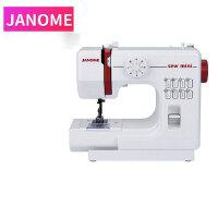 JANOME 电动台式迷你家用缝纫机微型脚踏车缝纫机衣吃厚多功能电动手动缝纫机
