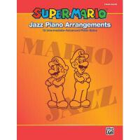 【预订】Super Mario Jazz Piano Arrangements: 15