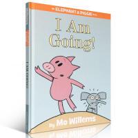 【全店300减100】进口英文原版正版 An Elephant and Piggie book I Am Going小猪
