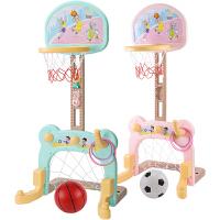 宝宝篮球架1-3岁儿童蓝球可升降室内2-5岁小孩男孩投篮架足球