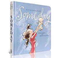 英文原版绘本 Someday 有一天 伟大的母爱 感动亿人的诗篇 亲子纸板书 小S推荐 进口正版 美国儿童故事书籍母亲