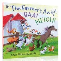 进口英文原版正版The Farmer's Away! Baa! Neigh!神奇动物故事系列Anne Vittur K