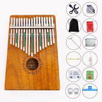 GECKO壁虎拇指钢琴便携卡林巴琴10音15音17音手指琴拇指琴卡林巴非乐器kalimba