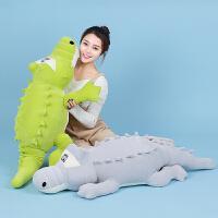 鳄鱼公仔毛绒玩具可爱布娃娃女生玩偶粉色抱枕生日礼物送女友