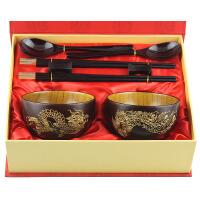 送朋友新婚礼物碗筷实用创意新奇 喜庆结婚礼品 情侣摆件diy定制