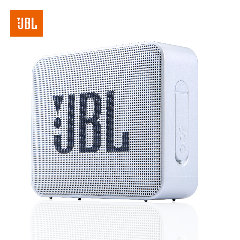 【当当自营】JBL GO2 哑光灰 音乐金砖二代 蓝牙音箱 低音炮 户外便携音响 迷你小音箱 可免提通话 防水设计