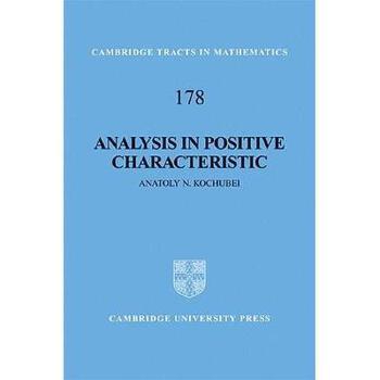 【预订】Analysis in Positive Characteristic 美国库房发货,通常付款后3-5周到货!