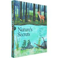 大自然的秘密 英文原版绘本 Nature's Secrets 4册套装 the River/Tree/Bee/Moon 小老虎 Little Tiger Kids SETM科普