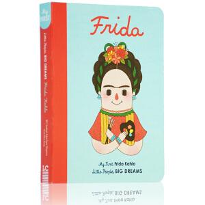 小小孩大梦想 英文原版 Little People Big Dreams 弗里达・卡罗 Frida Kahlo 启蒙纸板书