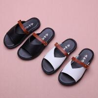 女童拖鞋公主鞋女孩鞋子儿童沙滩鞋一字拖女童凉拖鞋