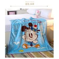婴儿毛毯儿童宝宝小毯子新生幼儿春秋抱毯小孩幼儿园双层加厚云毯