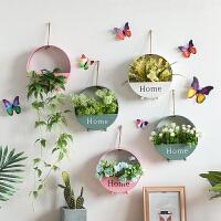 家居卧室房间餐厅玄关墙面挂饰墙壁装饰挂件创意壁挂花盆