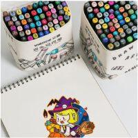 文曦touch正品彩色双头马克笔套装学生油性学生用美术小学生初学者30/40色手绘设计动漫肤色画画笔彩笔
