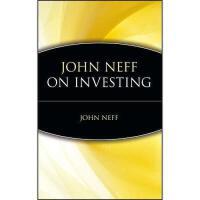 【预订】John Neff On Investing Y9780471197171