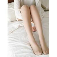 秋冬季加绒肉色光腿连裤袜款神器 双层防勾丝假透肉打底袜子 均码