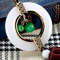 汽车挂件玉石葫芦车内装饰品轿车用挂饰平安符吊坠