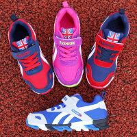 春夏新品儿童运动鞋儿童鞋跑步鞋猪巴戈男女童鞋