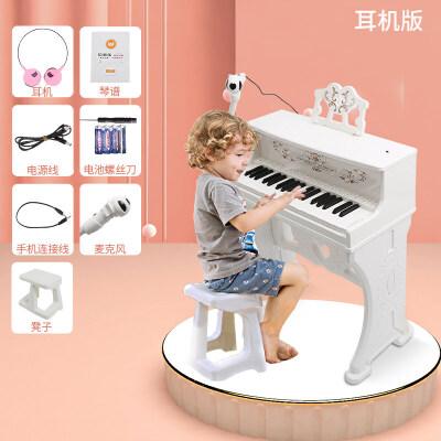 贝芬乐儿童电子琴小钢琴初学者3-6周岁多功能家用男女孩宝宝玩具