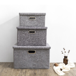 【79元任选2件 150元任选4件】简约收纳箱 衣物储存箱居家 杂物收纳盒衣柜衣橱收纳箱