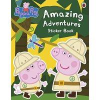 粉红猪小妹:惊人的冒险【现货】英文原版童书 Peppa Pig: Amazing Adventures Sticker