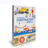 英文原版 抽拉翻翻书The Ultimate Construction Site Book建筑工地