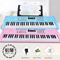 钢琴键幼师家用88 智能电子琴儿童初学者女孩入门61