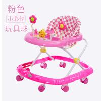 宝宝学步车可坐手推车婴儿童宝宝学步车多功能防侧翻6/7-18个月手推可坐可折叠学助步车