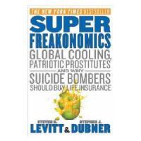 英文原版 SuperFreakonomics 超级魔鬼经济学