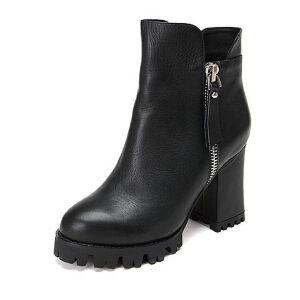Teenmix/天美意牛皮女短靴31-51DD6