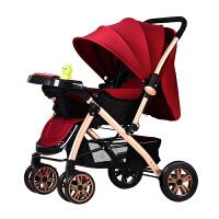 婴儿推车可坐可躺便携式小孩手推车轻便折叠0/1-3岁宝宝儿童简易