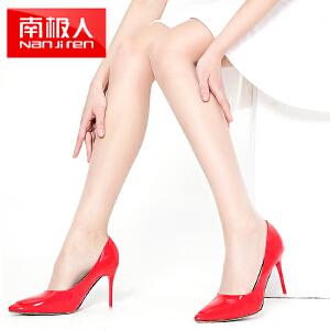 【春夏特价】6双南极人肉色丝袜女防勾丝连裤袜夏季超薄全透明黑色打底袜长筒
