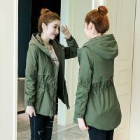 棉衣服女冬季韩版中长款时尚加厚加绒二棉外套工装潮