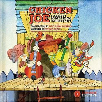 【预订】Chicken Joe Forgets Something Important [With CD 美国库房发货,通常付款后3-5周到货!