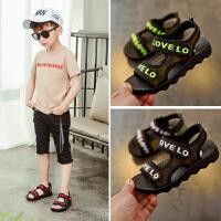 男童凉鞋新款夏季中大童沙滩鞋童鞋儿童鞋子